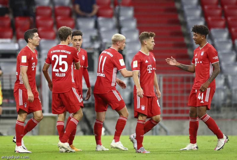 الدوري الألماني بايرن ينطلق بـ8 أهداف صحيفة الرياضية