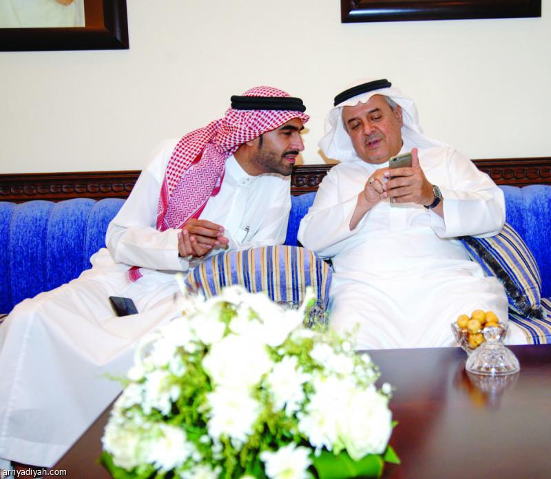 نتيجة بحث الصور عن منصور بن مشعل واحمد الصائغ
